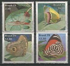 BRAZIL. 1979. Brasilian 79 (Butterflies) Set. SG: 1773/76. Mint Never Hinged.