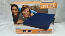 "NEW! Intex Queen 8.75"" Classic Downy Inflatable Airbed Mattress 68759WL"