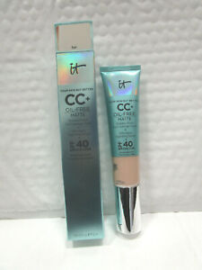 IT COSMETICS YOUR SKIN BUT BETTER CC+ OIL-FREE MATTE SPF 40 FAIR 1.08 OZ