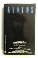 1986  ALIENS 1st PBO ALAN DEAN FOSTER JAMES CAMERON VINTAGE SCI FI WEAVER