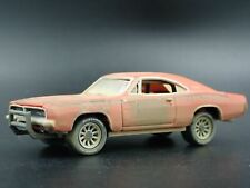 1969 69 DODGE CHARGER BARN FIND GENERAL LEE 1:64 SCALE DIORAMA DIECAST MODEL CAR