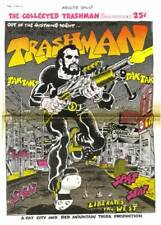TRASHMAN COLLECTED #1 by Spain Rodriguez - 1969 underground newspaper format