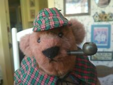 Artist Teddy bear by Linda Spiegel-Lorhe of Bearly There Bears 12in  VGC