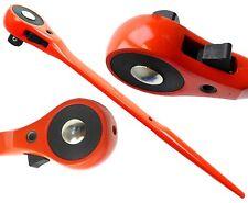 "1/2"" Drive Hi-Viz Ratchet Podger Spanner Steel Erecting Tool Podger Drift End"