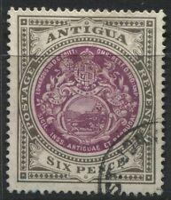 1911 Antigua 6d used Scott #36