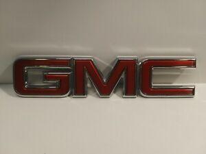 2014-2018 GMC SIERRA CANYON LIFTGATE / TAILGATE EMBLEM 23122158 GENUINE GM