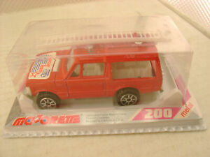 MAJORETTE HO SCALE #246 RANGE ROVER RESCUE TEAM NEW IN SEALED PACKAGE