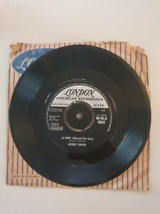 "7"" Vinyl Bobby Darin - La Mer (Beyond The Sea)"