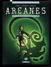 ARCANES  TOME 2   LA DAME DE PRAGUE   EO  avec cartes   PECAU  / PIGNAULT