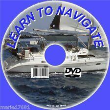 SAILING NAVIGATION RADAR, MARINE CHARTS PLOTTING COURSES WAYPOINTS ETC DVD VIDEO