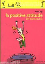 Livre psychologie la positive attitude des paresseuses   book