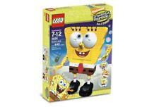 LEGO BUILD-A-BOB 3826 Set w/ Box SpongeBob sculpture brick figure statue