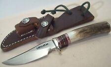1990s~RANDALL MADE~M27~UNUSED~HIGH END SPECIAL CUSTOM MINI HUNTING KNIFE +SHEATH