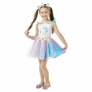 Princess Celestia Girl Fancy Dress My Little Pony Fairy Tale Costume Sz 3-4 Yrs