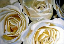 Still Life with Roses, Quality Hand Painted Oil Painting, 27.5x39in