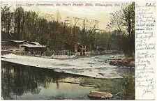 Du Pont's Powder Mills in Wilmington DE Postcard 1907