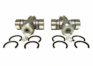 2 Staked-In Universal Joints for Mazda RX-7 Subaru Prop Shaft