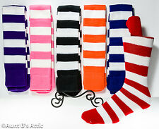 Socks Adult Clown/Jester Stripe Knee High Socks One Size Assorted Colors