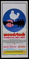 Plakat Woodstock Baez Coocker The Who Wadleigh Stels Nash Country Rock L109