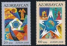 Aserbaidschan aus 2006 ** postfrisch MiNr.638-639 A - Europa: Integration!