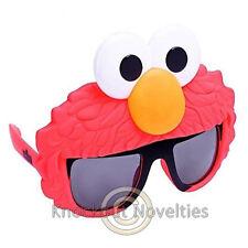 Sun-Staches - Sesame Street Elmo Sun Sunglasses Glasses Eyes Face Mask Lens