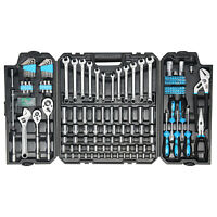 228-Piece Mechanics Tool Set,  Mixed Socket Wrench Auto Repair Tool Kit with Box
