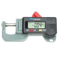 Medidor calibre espesor digital preciso portatil Probadorl metal Micrometro Y3V6
