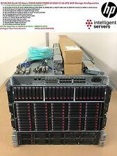 HP DL360p Gen8 HP P2000 G3 server Cluster San 66.6 TB 32 Core 64 Thread 256 GB RAM