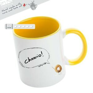Leaving Mug Cheerio Funny Banter For Colleague Team Mate  Leaving Great Gift