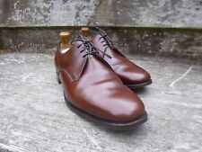 CROCKETT AND JONES VINTAGE DERBY –  BROWN - UK 10 (NARROW) –EXCELLENT CONDITION