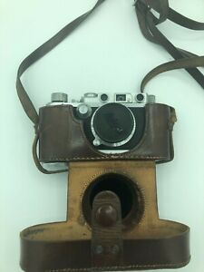 Leica IIIf DBP Leitz Kamera 1956 Nr. 18463 inkl. Anleitung