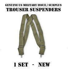 NEW USGI MILITARY ARMY USMC Trouser / Pants SUSPENDERS M1950 BDU ACU DCU Uniform