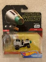 NIP STAR WARS HOT WHEELS CHARACTER CAR D-O RISE OF SKYWALKER FIRST APPEARANCE