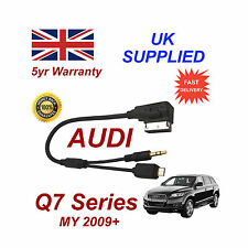 AUDI Q7 Series Cable para Htc One M8 E8 DESIRE Mini Micro USB & Aux 3.5mm Cable