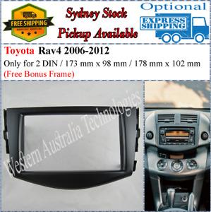 Fascia facia Toyota Rav4 Rav 4 Rav-4 2006-2012 Double Two 2 DIN Dash Kit
