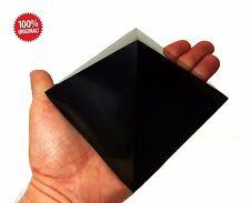 Shungite Schungit Polished Big Pyramid 110mm/ 4.33 inch Stone Protection Emf