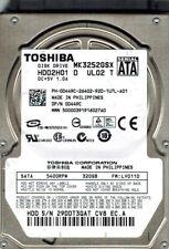Toshiba MK3252GSX HDD2H01 D UL02 T 320GB F/W: LV011D Philippines