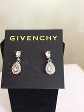 $42 Givenchy Readecrystal Teardrop Earrings Gv 200