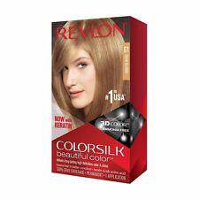 REVLON Colorsilk Beautiful Color 61 DARK BLONDE HAIR Dye New Sealed Box 3D Color