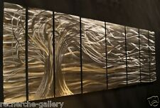 Metal Wall Art Sculpture Decor Whisper Tree Ash Carl