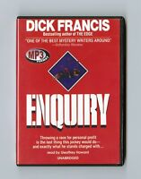 Enquiry - by Dick Francis - MP3CD - Audiobook - Unabridged