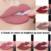 12Color Liquid Lip Gloss Matte Style Lipstick Waterproof Long Lasting Cosmetic G