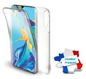 Coque Cristal Silicone Gel Protection Intégrale 360° pour Huawei P30