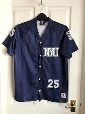 NCAA NYU Vintage Basketball Jersey shirt homme taille L
