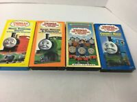 Lot of 4 Thomas the Tank Train & Friends Children Movies VHS Video Tapes ENGINE