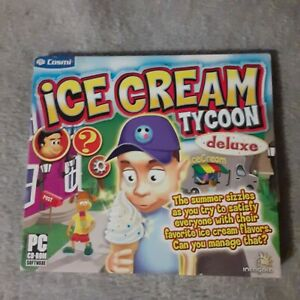 Ice Cream Tycoon PC Brand New Sealed 1st Class Shipping