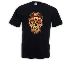 Mexican T-Shirt Mariachi 5 Sugar Skull Rockabilly Dia de los Muertos