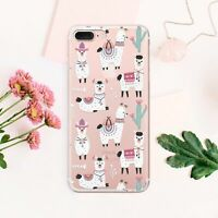 Llama iPhone 11 XS Cover Alpaca iPhone X 7 8 Plus Case Cactus iPhone 6s XR Skin