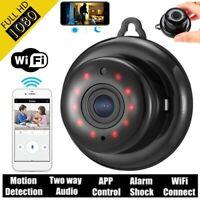 MINI Wireless WiFi IP Camera CCTV 1080P Indoor/Outdoor Home Security IR bara