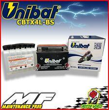 BATTERIA UNIBAT CBTX4L-BS 3AH NO MANUTENZIONE HONDA Little Cub 50 2000 IN POI